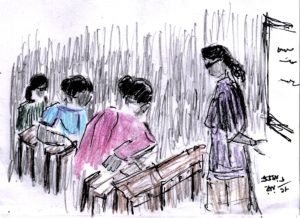 pen-colour-pencil-drawing-of-a-classroom