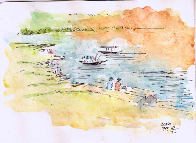 water-colour-line-and-wash-image